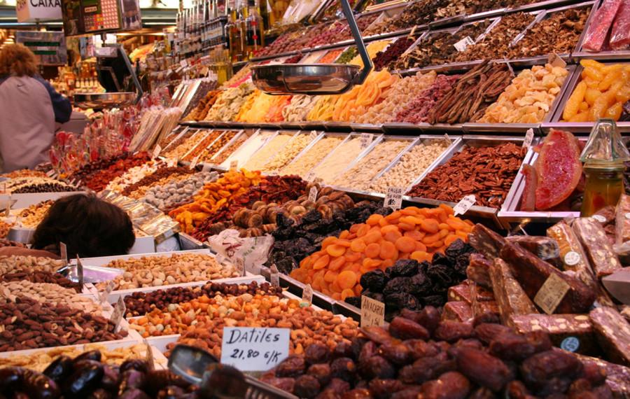 Los encantos del mercado La Boqueria